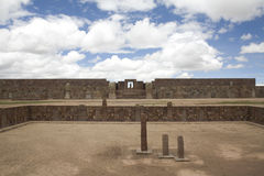 Tiwanaku or Tiahuanaco Royalty Free Stock Photo