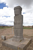 Tiwanaku or Tiahuanaco Stock Photography
