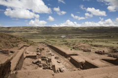Tiwanaku or Tiahuanaco Royalty Free Stock Photos