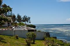 Tiwi-Strand, Kenia lizenzfreie stockfotos