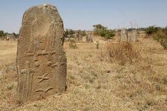 Tiya Ethiopian World Eritage Site Stock Photography