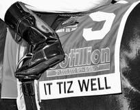 It Tiz Well Saddlecloth Saturday stock image