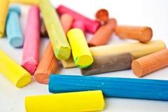 Tiza coloreada Imagen de archivo
