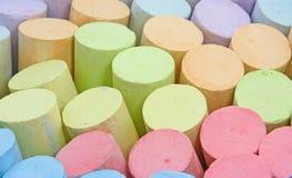 Tiza colorida Fotos de archivo libres de regalías