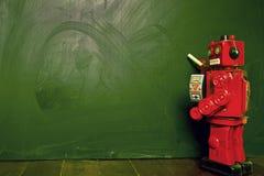 Tiza de los robots Foto de archivo
