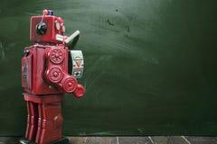 Tiza de los robots Fotos de archivo libres de regalías