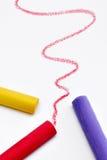 Tiza del color imágenes de archivo libres de regalías