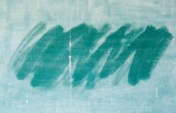 Tiza frotada hacia fuera a bordo Imagen de archivo libre de regalías