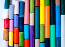 Tizas coloreadas Imagen de archivo