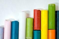Tizas coloreadas Fotografía de archivo libre de regalías