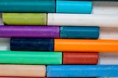 Tizas coloreadas Imagenes de archivo