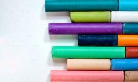 Tizas coloreadas Fotos de archivo