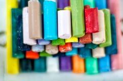 Tizas coloreadas Foto de archivo