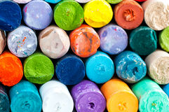 Tizas coloreadas Fotografía de archivo