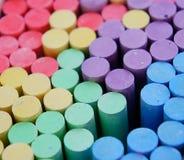 Tizas coloridas Imagenes de archivo