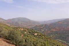 tizi för morocco n vägtichka Royaltyfri Foto