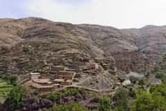 tizi för morocco n vägtichka Royaltyfri Bild