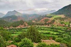 Tizi-n-Tichka passerande, Marocko, Afrika Arkivfoton