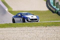 Tiziano Frazza in der Tätigkeit an FIA WTCC das Trofeo Stockbild