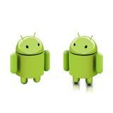 Tizio del Android illustrazione di stock