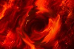 Tizzoni del fuoco di inferno, astrazione immagine stock libera da diritti