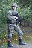 tjäna som soldat oss Royaltyfria Foton