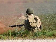 tjäna som soldat oss