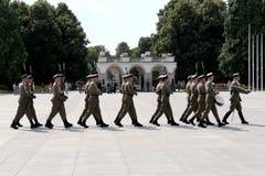 tjäna som soldat tombunknownen royaltyfria bilder