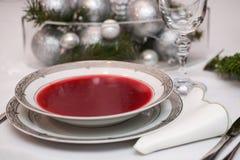tjänad som soupstil för rödbeta land Royaltyfri Foto