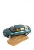 Tjänste- begrepp för bil Arkivbild