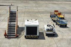 Tjänste- medel för flygplats Arkivbild