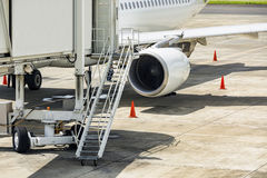 Tjänste- medel för flygplats Arkivfoto