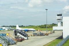 Tjänste- medel för flygplats Royaltyfri Fotografi