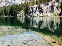 TJ Lake. Mammoth Lakes area of California, August 2014 Stock Image
