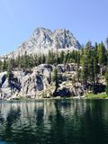 TJ Lake. Mammoth Lakes area of California, August 2014 Royalty Free Stock Image