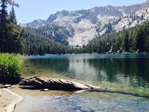 TJ Lake. Mammoth Lakes area of California, August 2014 Royalty Free Stock Photos