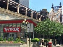 TJ Maxx商店在纽约 库存图片