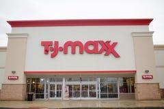 TJ-TJ-maxx κατάστημα, Quakertown Στοκ Εικόνα