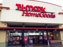 TJ Maxx Domowi towary Eugene, LUB Obrazy Stock