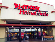 TJ Maxx Home Goods Eugene, OF Stock Afbeeldingen