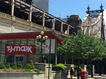 TJ Maxx store in New York Stock Image