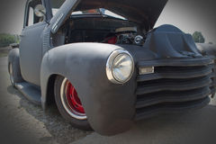 Tjaller den Chevrolet egenn 1954 Rod Truck Arkivfoto