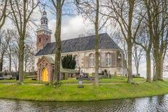 TJAMSWEER, ΚΑΤΩ ΧΏΡΕΣ - 12 ΙΑΝΟΥΑΡΊΟΥ 2016: Προτεσταντική Εκκλησία Στοκ εικόνα με δικαίωμα ελεύθερης χρήσης