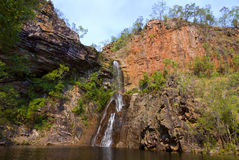 Tjaynera (Sandy Creek) Falls Royalty Free Stock Photos