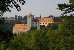 tjeckisk Europa för bitovslott republik Arkivbild