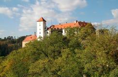 tjeckisk Europa för bitovslott republik Arkivfoton