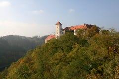 tjeckisk Europa för bitovslott republik Royaltyfri Bild
