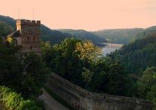 tjeckisk Europa för bitovslott republik Royaltyfria Bilder