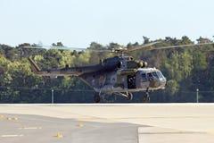 Tjeckisk helikopter för flygvapen Mi-171 Royaltyfria Bilder