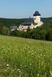 tjeckisk karlstejnrepublik för slott Arkivbilder